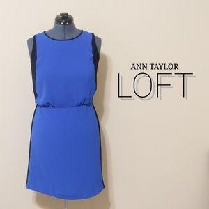 Loft | Sleeveless Colorblock Dress NWT